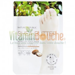 Masque Soin Pied Hydratation de Nature Republic