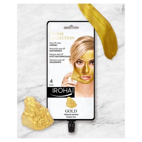 Masque peel-off à l'Or (4 soins)